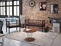 Кресло и диван Tenero 2-х местный Грин Трик 50х80/50х140 Черный
