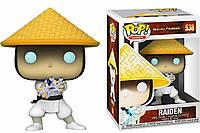 Фигурка Funko Pop Фанко Поп РейденМортал Комбат Mortal KombatRaiden10 см MK R538