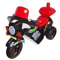 Детский Мотоцикл Электро Черный 372_Ч