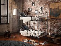 Кровать Tenero двухъярусная Виола 80 см х 190 см Черный