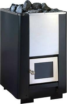 Печка для бани КОСТЕР К-12, дверка со стеклом.
