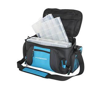 Сумка спиннинговая Flagman Lure Bag с 4 коробками 46х22х26см Сумка для рыбалки. ТОП