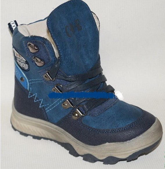 Детские ботинки зимние для мальчика Сноубутсы, 27-32 28