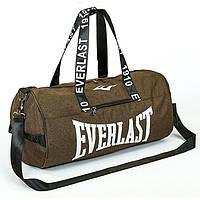 Сумка для спортзала Бочонок Everlast оливковый GA-0155