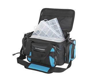 Сумка спиннинговая Flagman Lure Bag с 4 коробками 41x25x20см Лучшая сумка для снастей!