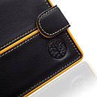 Шкіряний чоловічий гаманець BETLEWSKI з RFID 9,8 х 12,5 х 2,5 (BPM-3DP-60) - чорний, фото 5