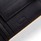 Шкіряний чоловічий гаманець BETLEWSKI з RFID 9,8 х 12,5 х 2,5 (BPM-3DP-60) - чорний, фото 7