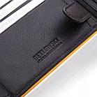 Шкіряний чоловічий гаманець BETLEWSKI з RFID 9,8 х 12,5 х 2,5 (BPM-3DP-60) - чорний, фото 10