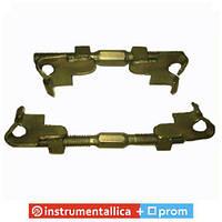 Стяжки пружин двухзахватные L250 (2 резьбы) СТ2Х250Ж CSCS025R2 ХЗСО