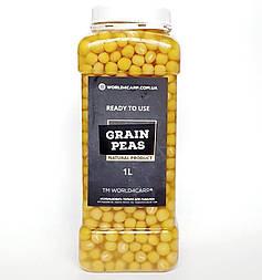 Зерна гороха для рыбалки готовые Grain Peas 1л