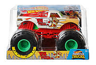 Машинка Хот Вилс Монстр Трак Пицца 20 см Hot Wheels Monster Trucks HW Pizza 1:24 Mattel GBV37