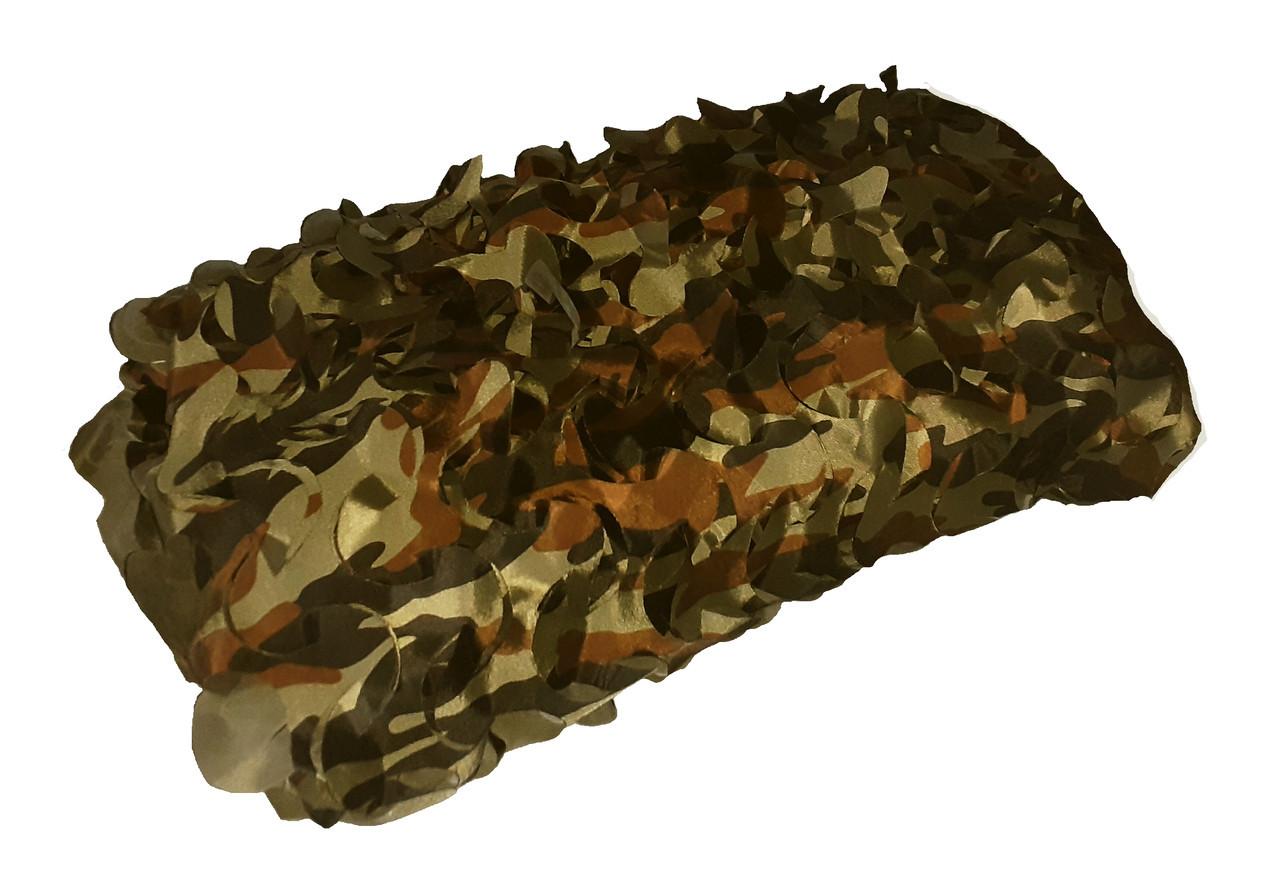 Сетка маскировочная односторонняя Камуфляж НАТО - Camonet, СЕ
