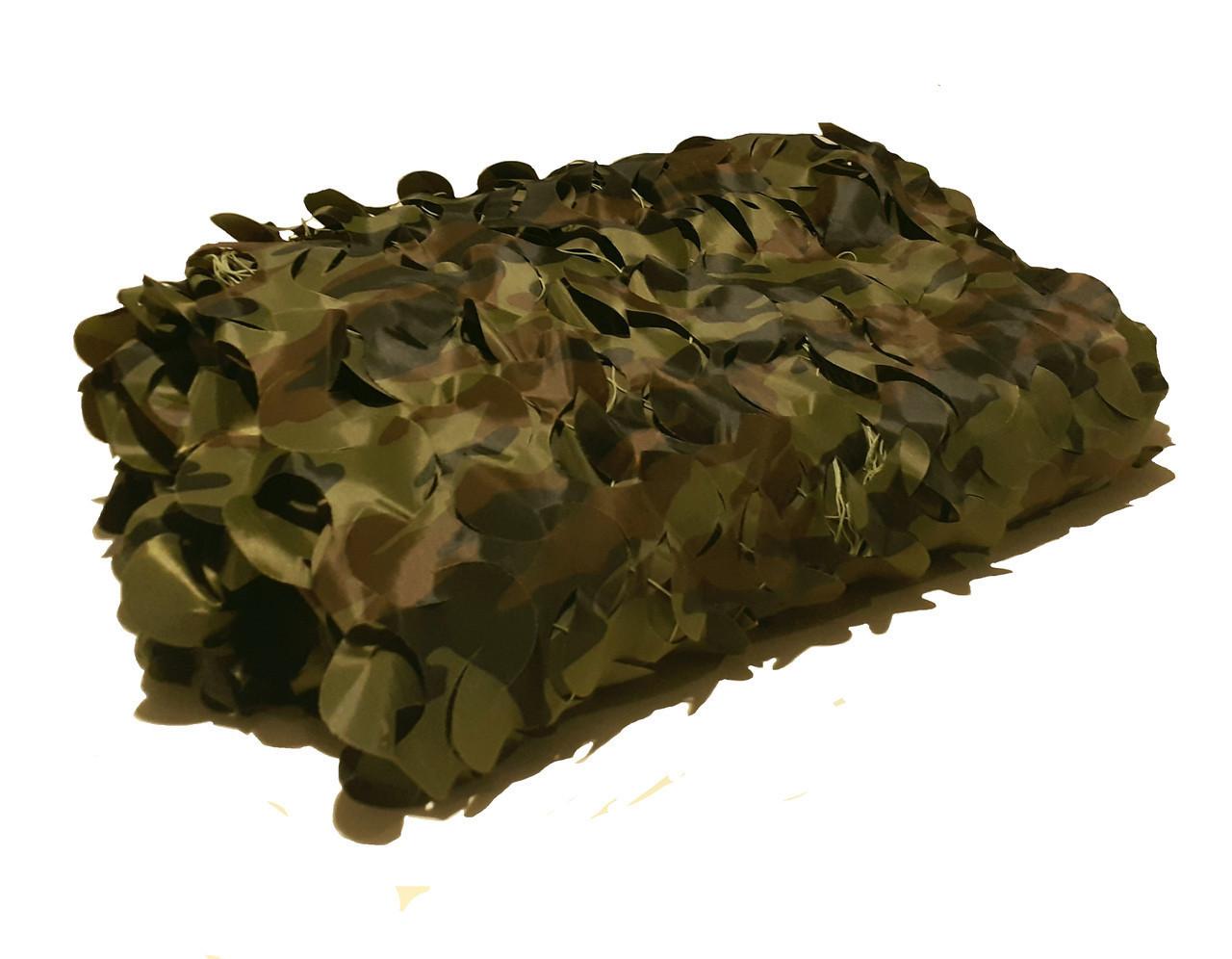 Сетка маскировочная односторонняя 1,5м*6м Камуфляж НАТО - Camonet, СЕ
