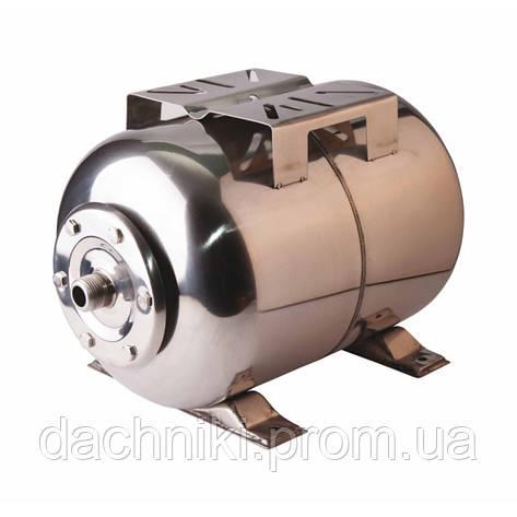 Гидроаккумулятор Womar 24 л корпус нержавеющая сталь, фото 2