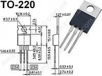 Симистор BT137-600E 600V 8A