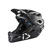 Вело шлем LEATT Helmet DBX 3.0 Enduro [Black/White], размер M