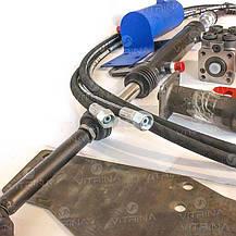 Комплект переоборудования ЮМЗ с двухсторонним цилиндром (с гидробаком) | переделка на насос дозатор VTR, фото 3