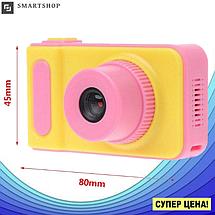 Детский цифровой фотоаппарат Smart Kids Camera V7 Розовый   Детская цифровая камера, фото 2