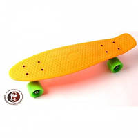 Скейтборд, Пенни Борд Penny Board Fish Оранжевый (Sd)