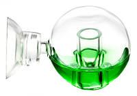Дроп-чекер скляний Co2Pro у формі сфери, 3 см