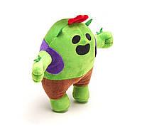 Мягкая игрушка Спайк из компьютерной игры / 21 см, популярный герой Spike из игры