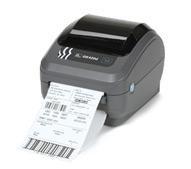 Настольный принтер печати штрихкодов «Zebra GK420d» (USB, RS-232)