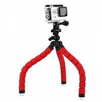 Штатив-Тримач Для Телефону/камери Selfie Flexi Pod Червоний (D2)