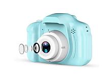 Цифровой детский фотоаппарат, розовый и синий - XoKo