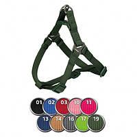 Шлея-петля Trixie Premium One Touch Harness для собак, XL: 80–100 см/ 25 мм фуксия
