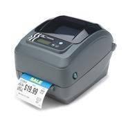 Настольный принтер печати штрихкодов «Zebra GK420t» (USB, RS-232)