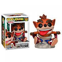 Фигурка Funko Pop Crash bandicoot Crash Bandicoot Крушение бандикут Крэш Бандикут 10 см SKL38-222538