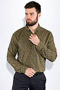 Рубашка 511F015 цвет Хаки, фото 4