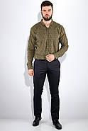 Рубашка 511F015 цвет Хаки, фото 5
