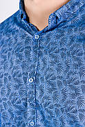 Рубашка 511F015 цвет Голубой, фото 2