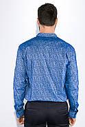 Рубашка 511F015 цвет Голубой, фото 3