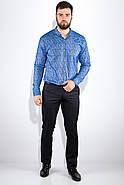 Рубашка 511F015 цвет Голубой, фото 5