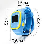 Смарт-часы детские JETIX Tiny 2 Kid GPS с виброзвонком и WiFi  (Blue), фото 3