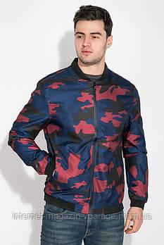 Куртка 147V001 цвет Сине-бордовый
