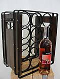 Подставка для вина настольная ЛОФТ - 12, фото 5