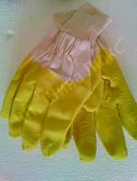 Перчатки желтые стекло