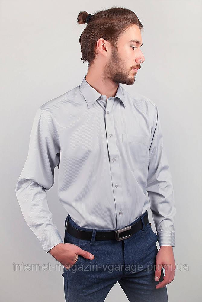 Рубашка Fra №878-43 цвет Серо-голубой