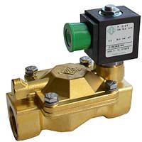 Клапан электромагнитный 21W3KE(V)190 непрямого действия НЗ 2-ход Ду 20