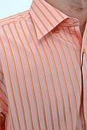Рубашка 869-5 цвет Коралловый, фото 2