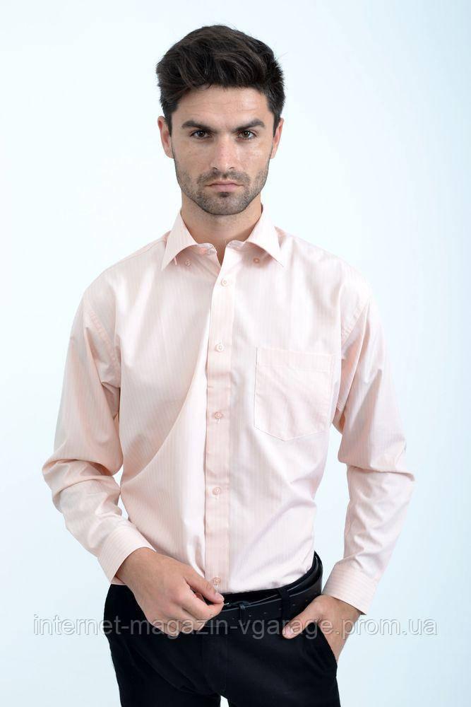 Рубашка 818-91 цвет Персиковый