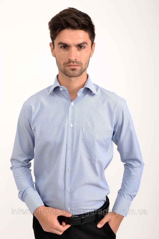 Рубашка 5C-866-12 цвет Бело-синий