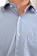 Рубашка 5C-866-12 цвет Бело-синий, фото 2