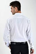 Рубашка 575-2 цвет Белый, фото 2