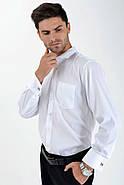 Рубашка 575-2 цвет Белый, фото 3