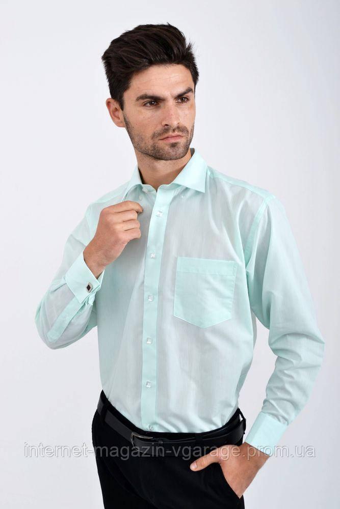 Рубашка 502-227 цвет Мятный