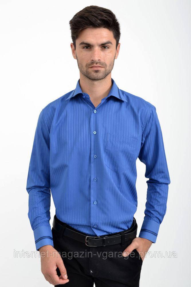 Рубашка 5-9060-8 цвет Синий
